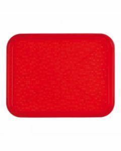 Dienblad kunststof Rol-ex rood 45,5 x 35,5cm