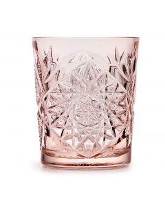 Hobstar Libbey whisky Coral Pink 35,5cl per set van 6