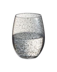 Waterglas Primary handcraft grijs 36cl per set van 6
