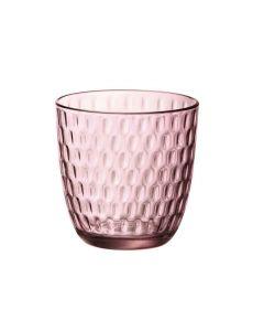 Waterglas Slot 29cl roze per set van 6