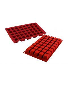 Siliconen bakvorm 'cube' 24 x 24mm