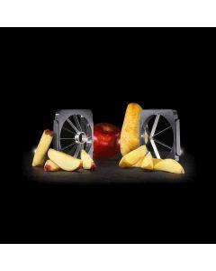 Kubus Lurch 2 messenroosters voor aardappelwedges / appels