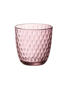 Waterglas Slot 29cl roze per set van 6