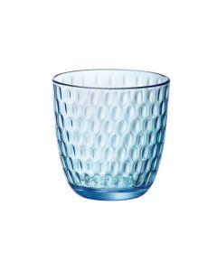 Waterglas Slot 29cl blauw per set van 6